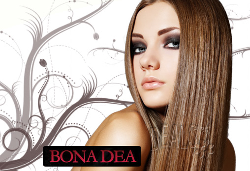 Кератиново преображение в BONA DEA DELUXE Hair SPA! Кератинов шампоан, подхранваща маска с фитокератин, инфрачервен сешоар, кератинов спрей и прическа за 9.90лв!