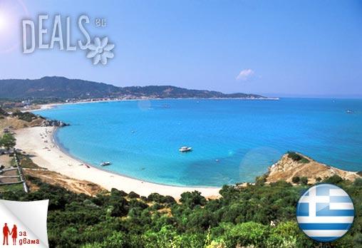 Спокойна почивка в Гърция, край Катерини! 3 или 5 нощувки - различни комбинации - само нощувки, или със закуски и вечери за двама или трима човека в хотел Ouzas на цени от 102лв. Предплатете сега!