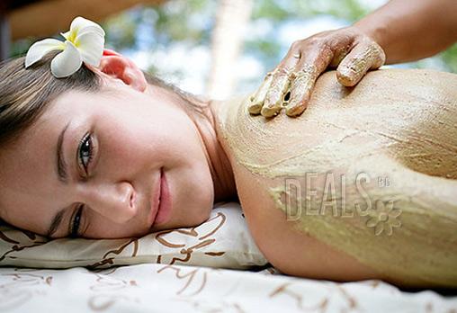 Nirvana за Вашите сетива! SPA детоксикация на гръб + маска и масаж с билки и кокос + терапия с Вулканични камъни Hot Stone в BONA DEA Fashion Studio само за 9.90 лв!