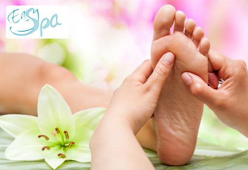 Take it Easy! С нас е лесно! Рефлексотерапия на стъпала от Easy Spa на цена от 9лв!