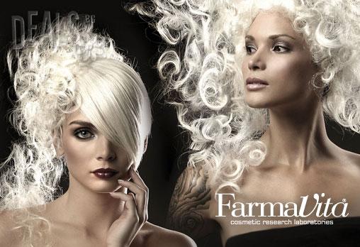 Бъдете красиви с боя за коса FarmaVita! Боядисване на корени, масажно измиване, подхранваща маска и оформяне на прическа със сешоар по Ваш избор само за 13.90лв от Салон за красота Хасиенда в Центъра на София!