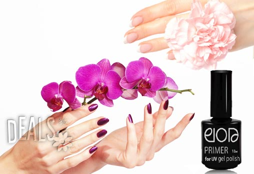 Красиви нокти за по-дълго време! Класически или френски маникюр с гел лак Elora + едно безплатно сваляне на гел лак само за 7.90лв вместо за 30лв от Салон Stefi Nails в Красно село!