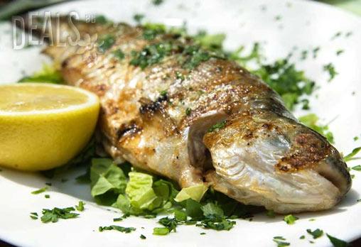 Средиземноморски кулинарен круиз ЗА ДВАМА! ДВЕ порции риба по избор: Лаврак, Пъстърва, Ципура или Бяла риба за 8.72 лв. в Италиански ресторант BALITO в центъра!