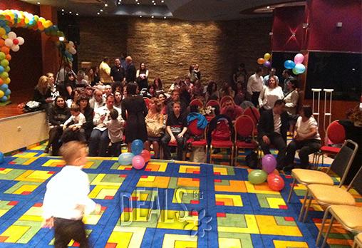 Детско парти или Рожден Ден за 15 деца на избрано от вас място! Спортен аниматор, украса от балони, конфети, шапки и съкровище, 60мин - само за 49лв вместо 99лв, от Eventsbg.net