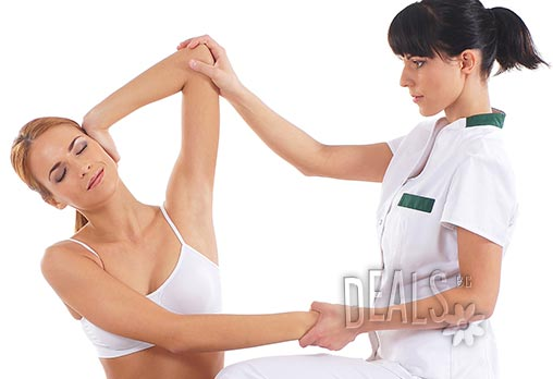 Отпуснете се в ръцете на кинезитерапевтите от Алфа Медика! Класически, релаксиращ или антистрес масаж на цяло тяло, лице и глава, 60 мин - цени от 12.90лв вместо 45лв