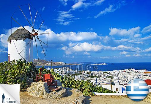 Гърция, Миконос, Petinaros Hotel 2*: 3 нощувки,закуски, чартър, от 681лв/човек