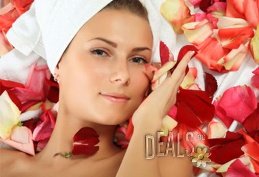 Погрижете се за кожата си! Почистване на лице в 16 стъпки с българска или френска козметика + терапия за лице с ампула според типа кожа и подарък оформяне на вежди за 13.90лв в Салон за красота Женско Царство!