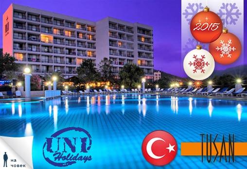 Нова Година, Турция, Кушадасъ, Hotel Tusan 5*: 4 нощувки,All Inclusive,299лв/човек
