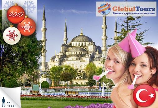 Нова година,4 дни, Турция, Истанбул,Одрин: 3 нощувки, 3*, със закуски, 268лв на човек