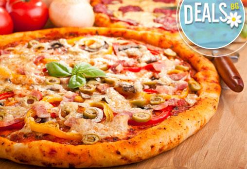 Усетете вкуса на Италия! Три малки пици по избор + доставка от Кулинарна къща ''Ники''!