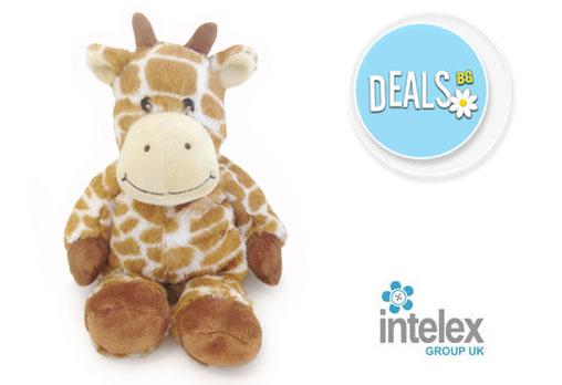 Плюшено нагряващо се Жирафче Cozy Plush Giraffe от Intelex - Снимка 1