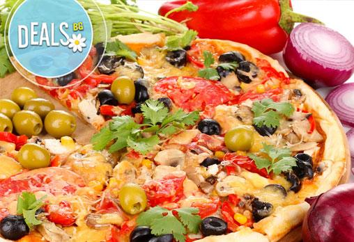 2 бр. XL пици с общ грамаж от 1600гр по избор от над 17 вида пици от цялото меню от ''Пица&дюнер Presto''! - Снимка 3