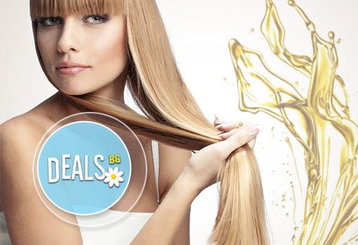 Лукс и красота! SPA терапия за коса с етерични масла и прическа със сешоар в BONA DEA Deluxe Hair SPA