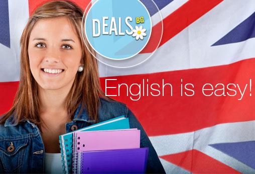Английски език, интензивен вечерен курс за ниво по избор А2, B1 или В2, 103 уч.ч, 16 в езиков център EL Leon