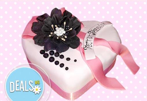 Обичайте! Подарете Торта Сърце за разпалване на любовта от Сладкарница Джорджо Джани