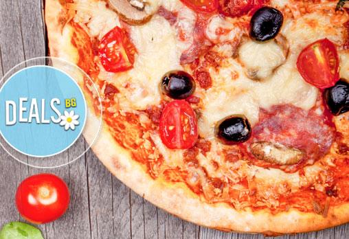 Вкусни и хрупкави пици! Три малки или една голяма по избор от Пица&Дюнер Presto, в центъра на София! - Снимка 4