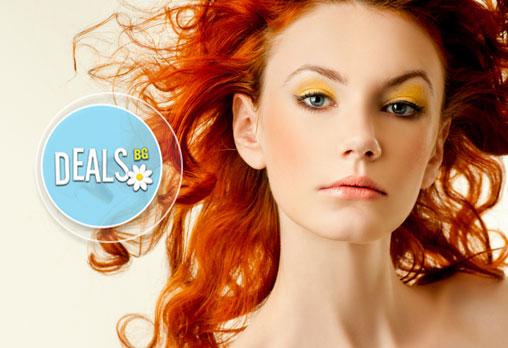 Боядисване с Ваша боя, подстригване, подхранваща маска, масажно измиване и оформяне със сешоар по избор в салон Феникс!