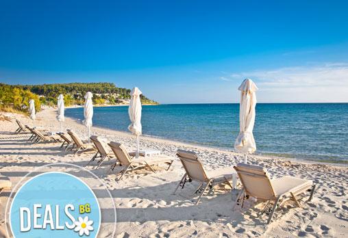 Почивайте за 1 ден през юли на плаж Аммолофи, Кавала, Гърция! С включени транспорт и екскурзовод от агенция Поход!