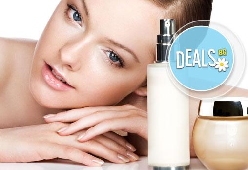 Ултразвуково почистване на лице с френска и израелска козметика + лечебен масаж и медицинска маска в Blush Beauty