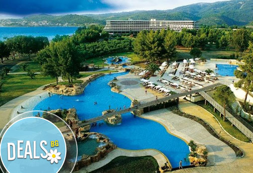 Porto Carras Sithonia Thalasso&Spa Hotel 5* на п-в Халкидики Ви очаква през септември! 4 нощувки, All Incl. и транспорт!