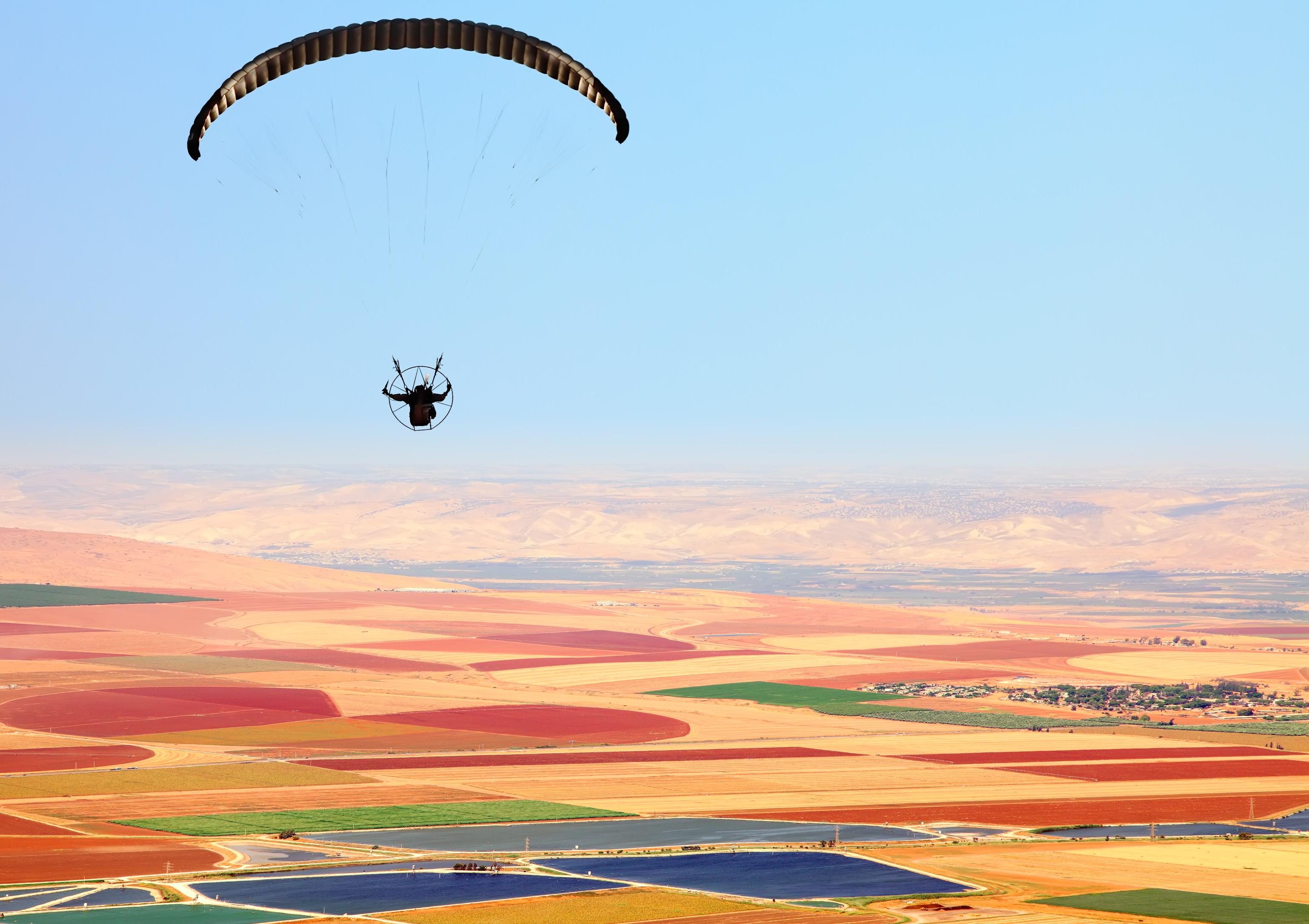 Тандемен полет с двуместен парапланер на 5 км от София + заснемане с HD GoPro action камера от Thermal Expansion!