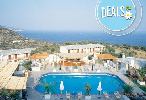 Почивайте на брега на Егейско море в период по избор! 3/5/7 нощувки, закуски и вечери в Aeria Hotel 3*+, Тасос, Гърция!