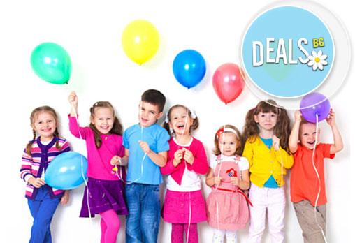 Детски рожден ден с празнична украса, аниматор за децата и много игри и забавления в Детски парти клуб Звездички!