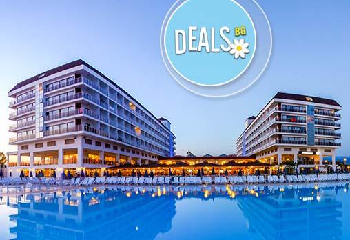 Посрещнете Нова година в Eftalia Aqua Resort 5*, Анталия! 5 нощувки на база All Inclusive, възможност за транспорт!
