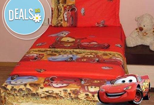 За децата! Спален комплект три части с Макуин, Уинкс, Дора, Замръзналото кралство от Фирма Икар на супер цена!