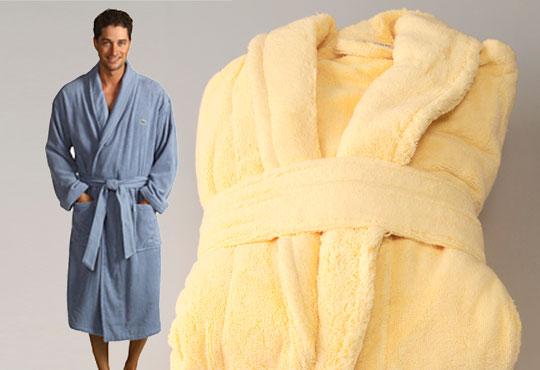 За Новата година - подарете си мек и удобен халат за баня с шал яка, 100% памук, 450 г/м2, от ЕСА Корпорация