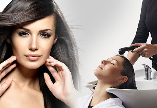 Подстригване, измиване с висок клас продукти, маска според типа коса, стилизиращ продукт и подсушаване в салон Дежа Вю