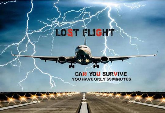 Забавлявайте се 60 минути на борда на Lost Flight Real Life Escape Game с ваучер за двама, трима, четирима, петима или шестима души!