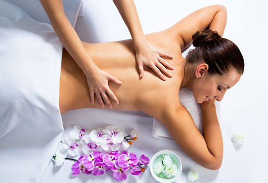 60 минутен арома или болкоуспокояващ масаж с жасмин, ирис, алое в Център за масажи Люлин