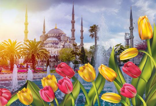 През април до Истанбул за Фестивала на лалето: 2 нощувки със закуски, транспорт