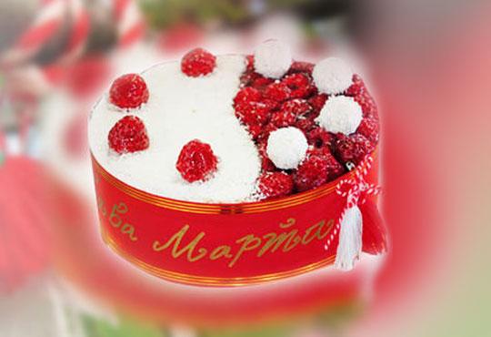 През целия март - тематично сладко изкушение - еклерова торта Баба Марта от Виенски салон Лагуна! Предплатете сега 1лв!