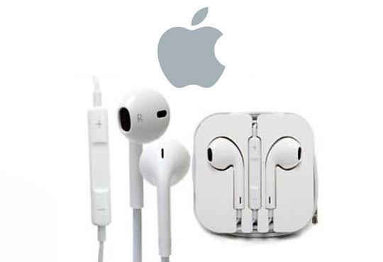 Качествени и стилни слушалки с микрофон за моделите на Apple и за всички апарати и MP3 плеъри със стандартен 3.5 мм аудио порт!