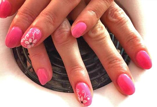 За красиви и здрави нокти с идеален маникюр! Ноктопластика с гел чрез изграждане и 2 декорации в салон за красота Нелс! - Снимка 3