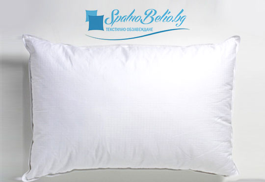 За спокоен и сигурен сън! Възглавница с 500 г силиконов пух, българско производство от SPALNOBELIO.BG!