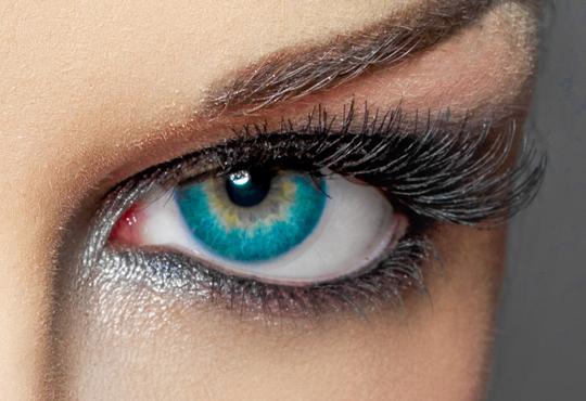 Привлекателна визия! Поставяне на мигли на снопчета и бонус почистване и оформяне на вежди от Салон за красота Мелани