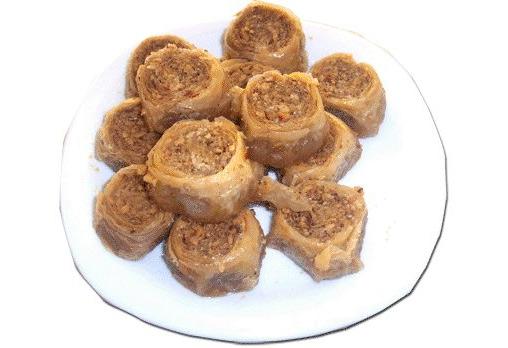 ЕДИН или ДВА килограма домашна баклава на хапки с орехи и канела от Работилница за вкусотии РАВИ - Снимка