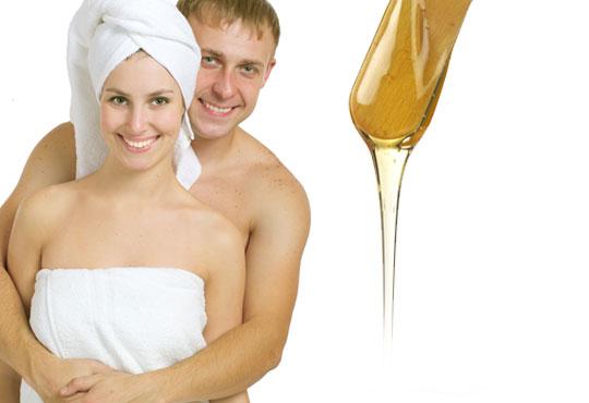 Копринено гладка кожа с кола маска на цяло тяло за жени или мъже в салон Визия!