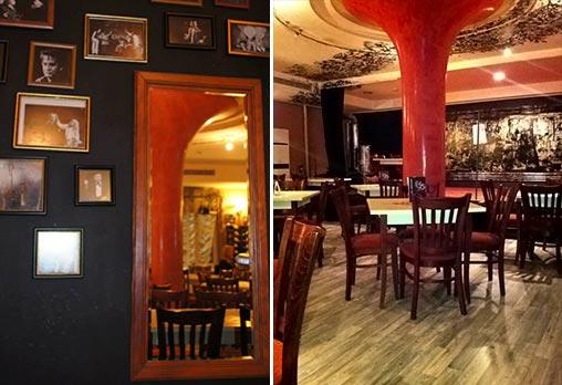 Вкусно предложение за паста с пушена сьомга и каперси с чаша вино или италианска бисквитена торта в ресторант Клуб на актьора! - Снимка 5