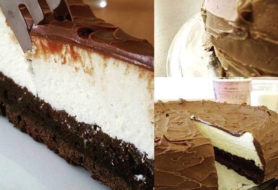 С повод или без! Вземете топящ се в устата шоколадов чийзкейк - цели 2 килограма, 16 парчета, от сладкарница Cheesecakers!