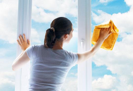 Брилянтна чистота! Почистване на прозорци и дограми и почистване на баня или тоалетна от Брилянтино!