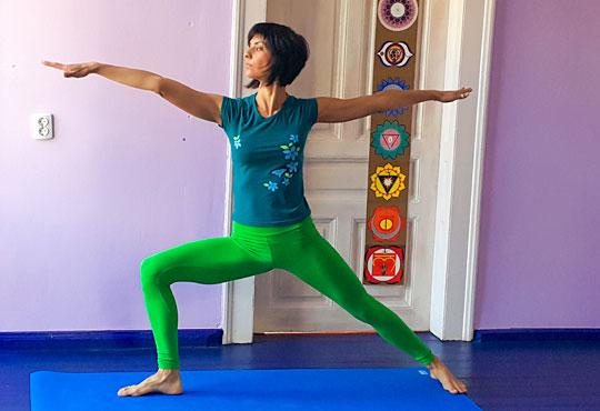 Сила, здраве и красота! 1 посещение на хатха йога практика за начинаещи и средно напреднали в М&В къщата!