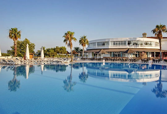Почивка със самолет в Анталия през юли! 7 нощувки, Ultra All Inclusive в хотел Euphoria Palm Beach Resort 5*, Сиде, двупосочен билет, летищни такси и трансфери