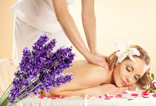СПА микс! Комбиниран масаж на тяло с елементи на класически и тайландски масаж, ароматерапия с френска лавандула, My Spa