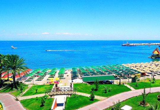 Супер почивка със самолет в Анталия! 7 нощувки, All Inclusive в хотел L`ANCORA BEACH 4*, Кемер, двупосочен билет, летищни такси и трансфери