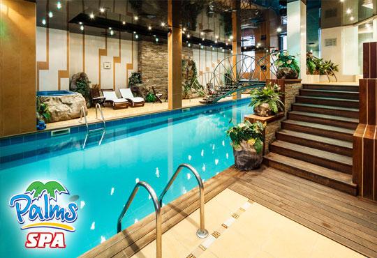 Влезте във форма с Palms Spa към хотел Анел 5*! Басейн + джакузи, фитнес или комбинация със сауна или парна баня само до 20.11!