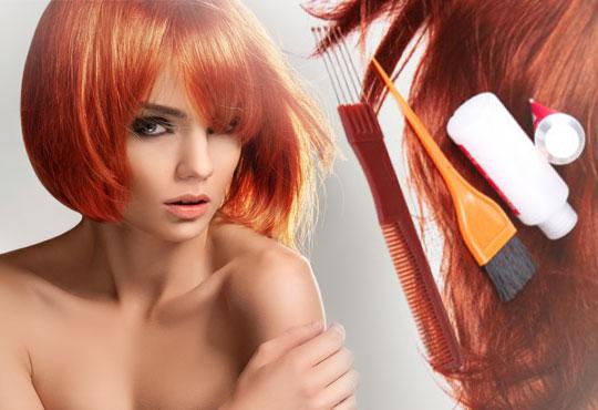 Нова прическа! Боядисване с боя на клиента, подстригване, кератинова терапия и прав сешоар в салон Diva!